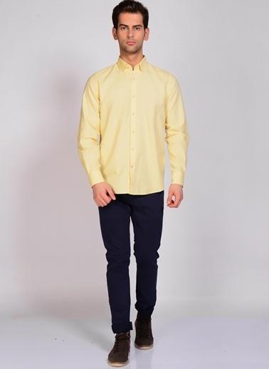 Limon Company Uzun Kollu Gömlek Sarı